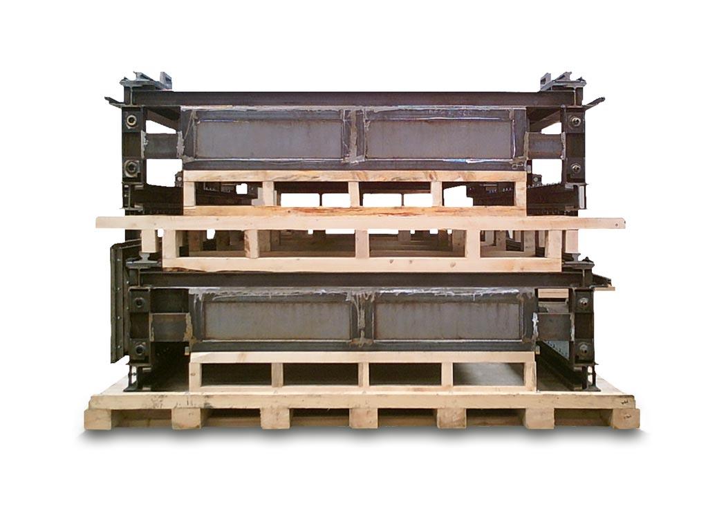 struttura in legno su misura
