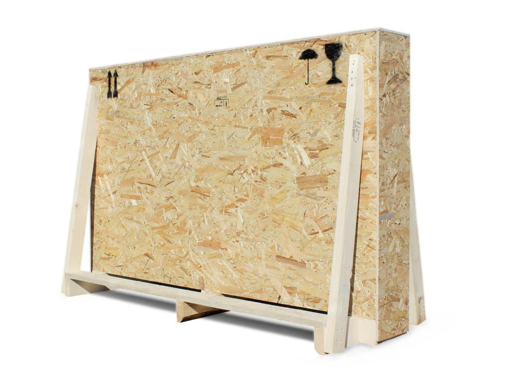 cassa in legno su misura