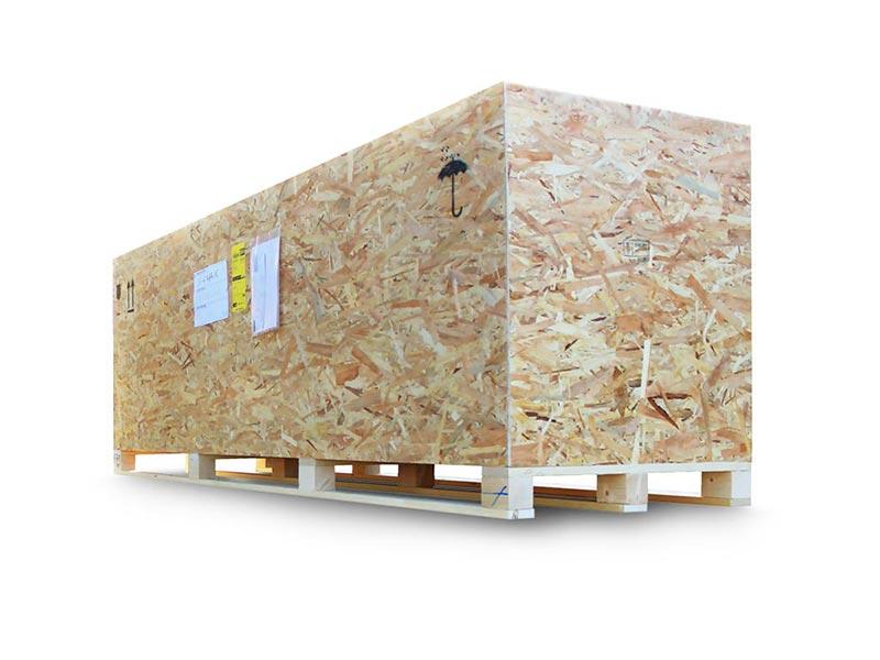 cassa in legno OSB per spedizioni