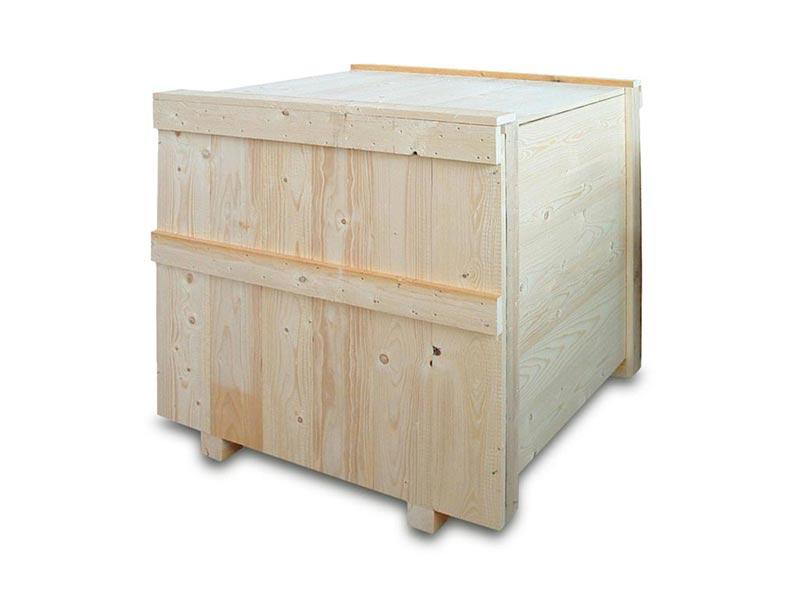 cassa in legno massello per spedizioni