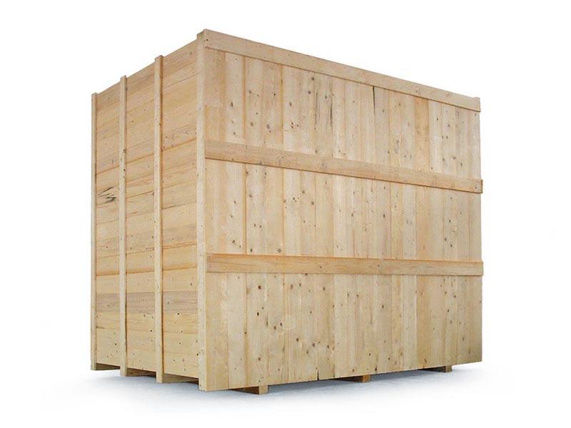 imballaggi industriali cassa in legno