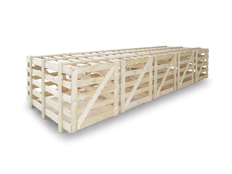 imballaggi industriali gabbia in legno