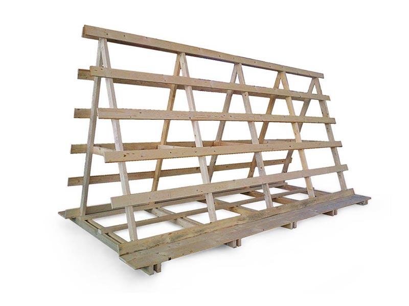 imballaggi industriali struttura in legno