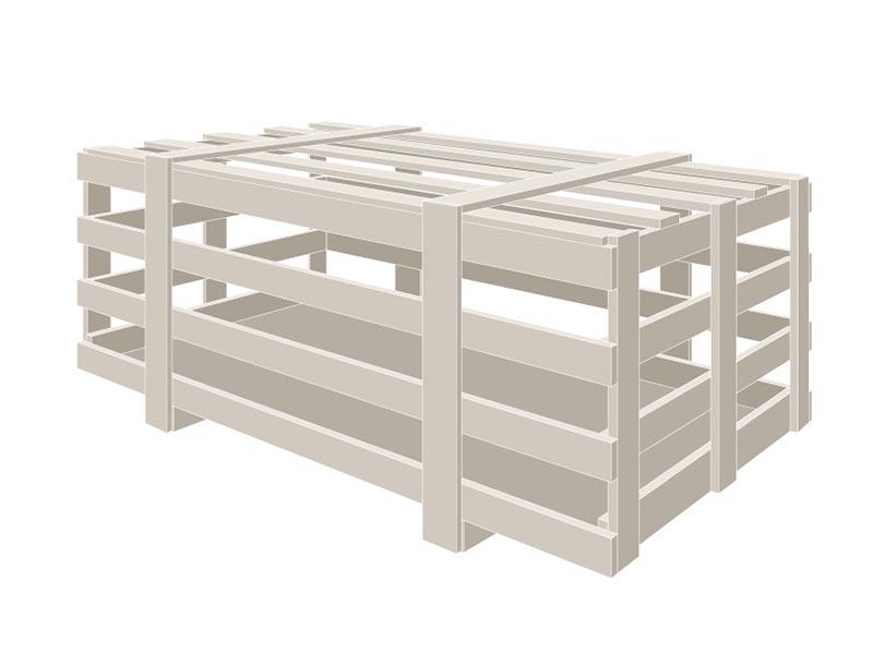 progettazione gabbia in legno